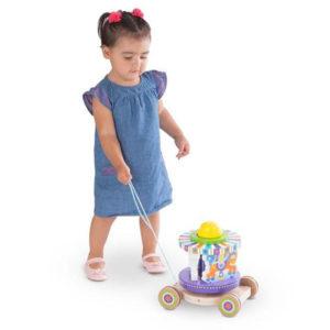 Carousel Pull Toy Melissa & Doug Example