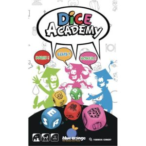 Dice Academy Blue Orange