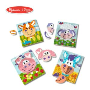 Melissa & Doug​ Farm First Play 4x Jigsaw-puzzle