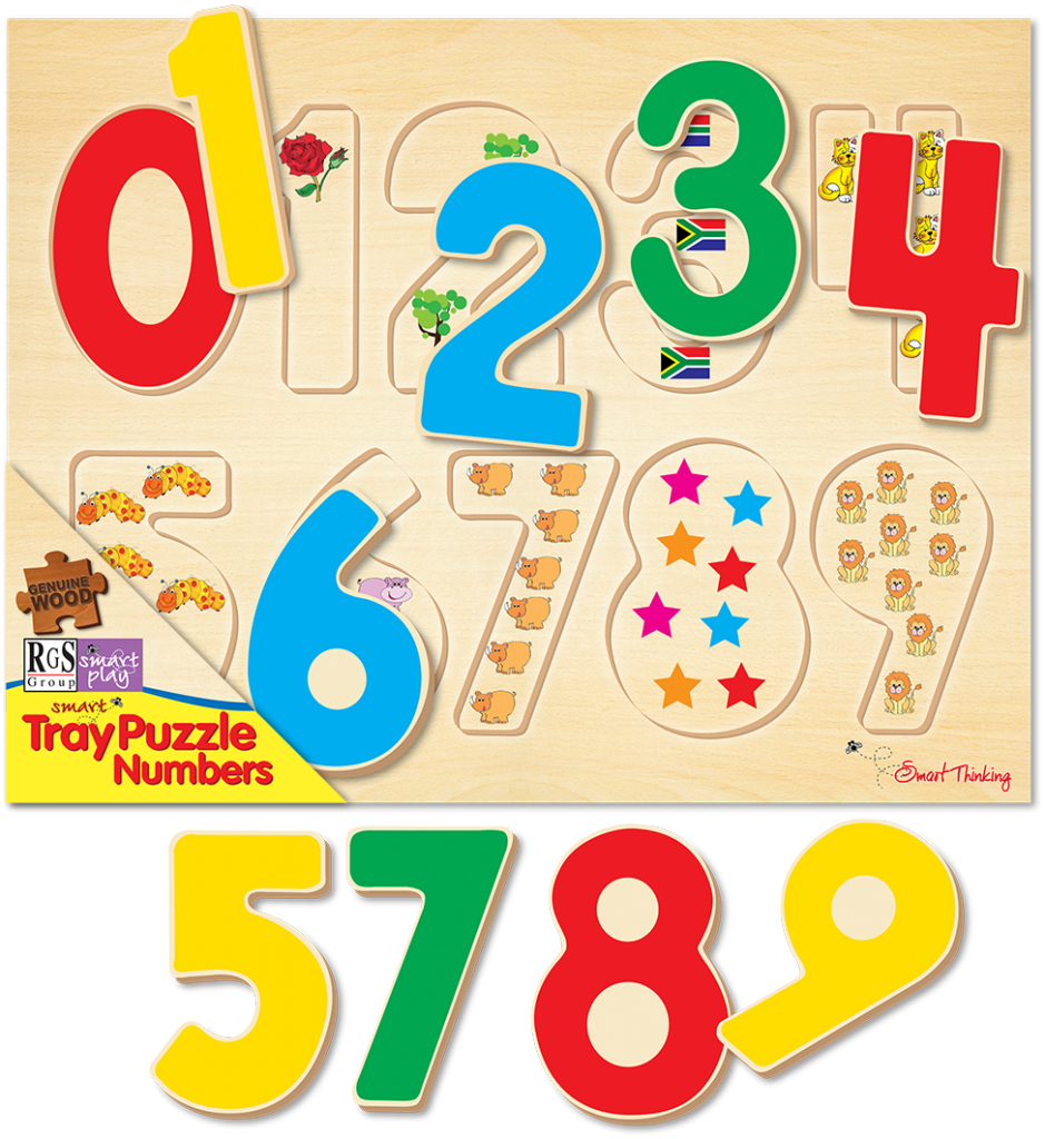 What Size Puzzle Should my Child Be Doing? Number Tray Puzzle for Ages 18 months to 2